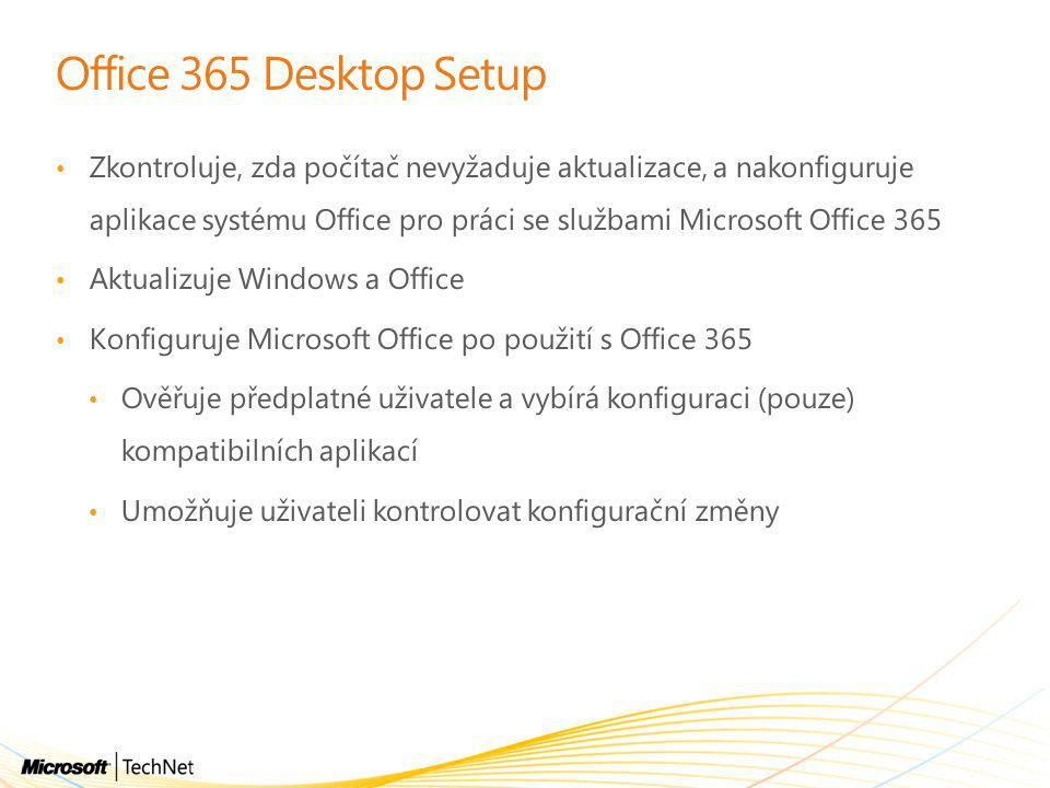 Office 365 Desktop Setup