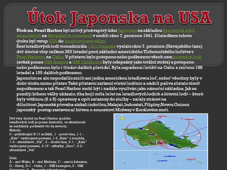 Útok Japonska na USA