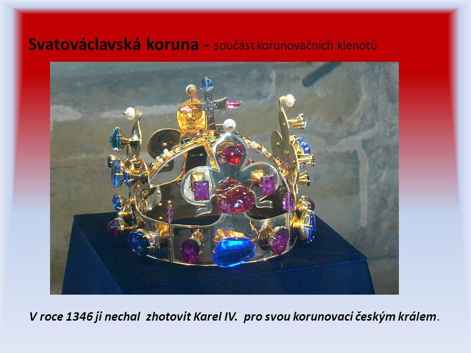 Svatováclavská koruna - součást korunovačních klenotů