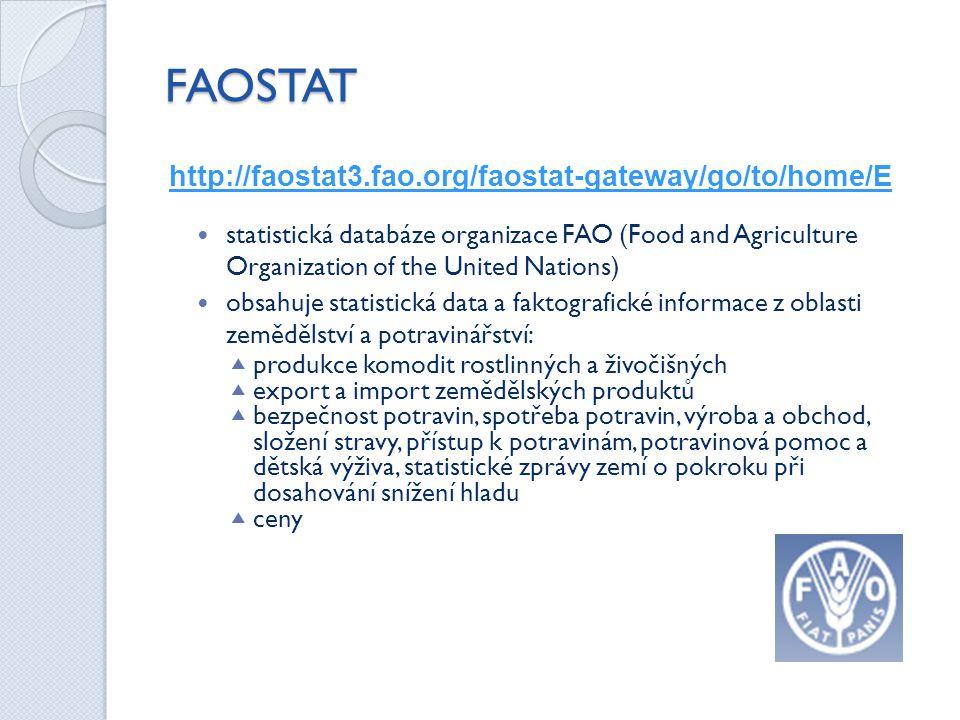 FAOSTAT http://faostat3.fao.org/faostat-gateway/go/to/home/E