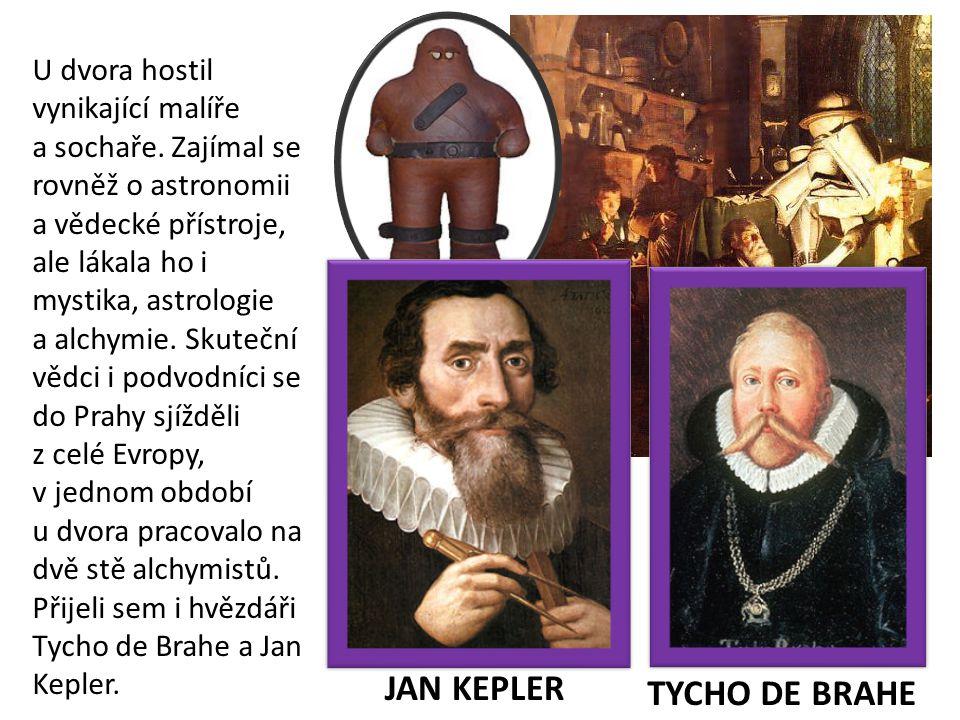 JAN KEPLER TYCHO DE BRAHE