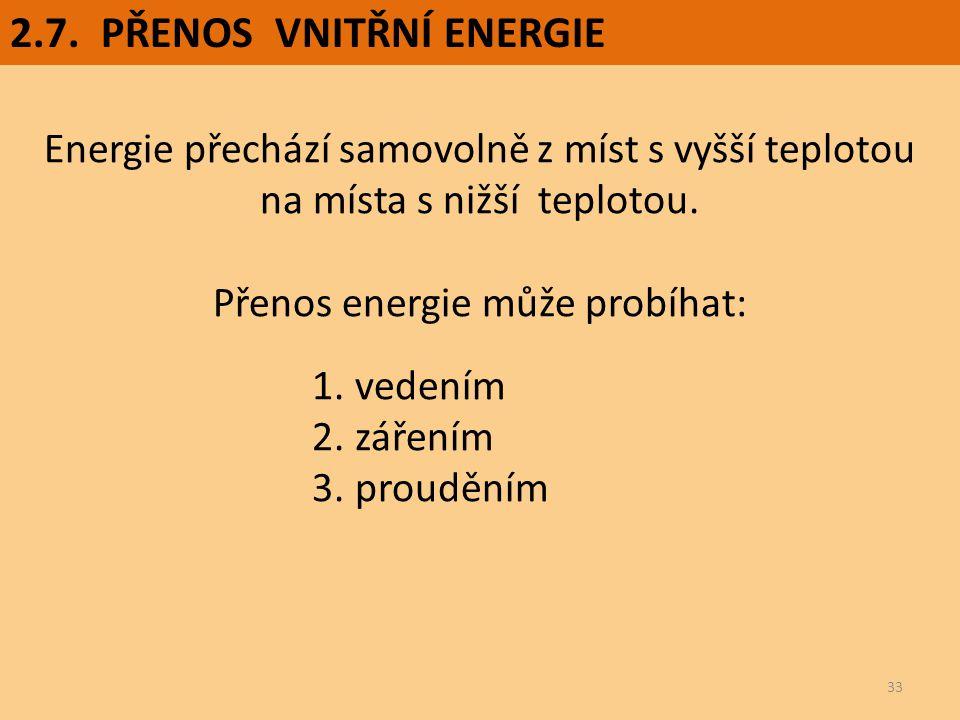 Přenos energie může probíhat: