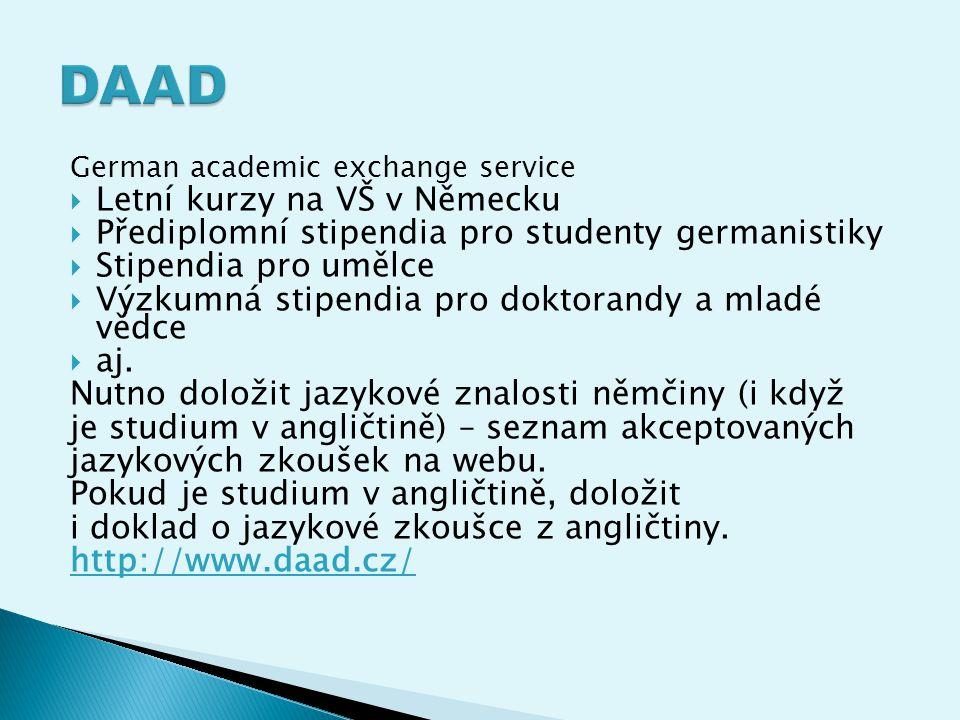 DAAD Letní kurzy na VŠ v Německu