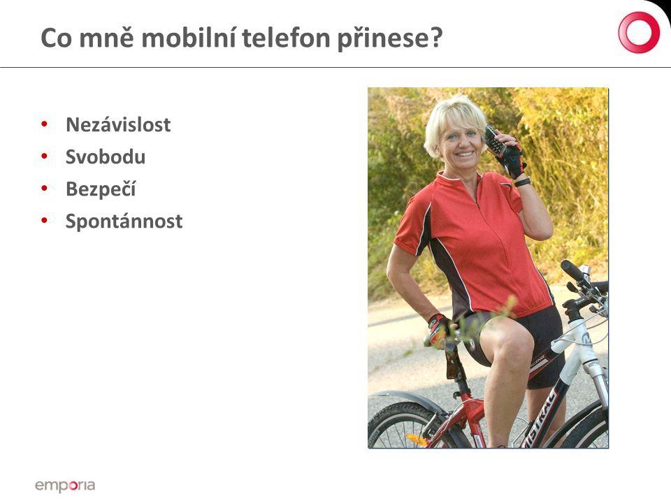 Co mně mobilní telefon přinese