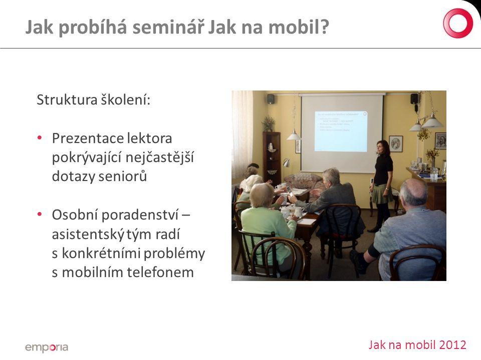 Jak probíhá seminář Jak na mobil