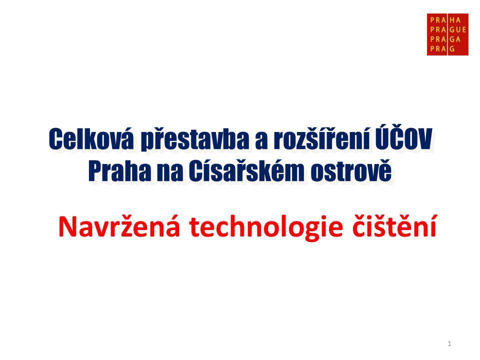 Celková přestavba a rozšíření ÚČOV Praha na Císařském ostrově