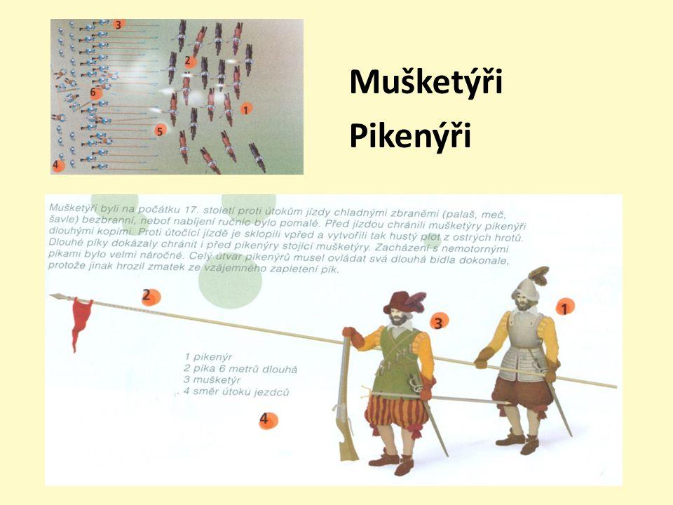 Mušketýři Pikenýři