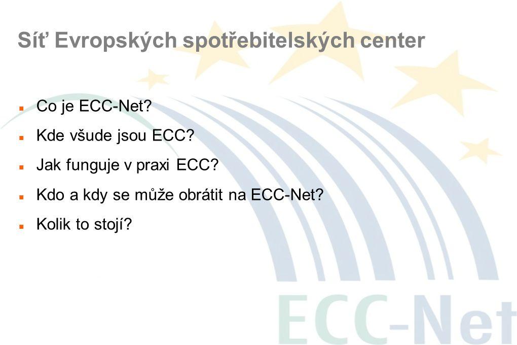 Síť Evropských spotřebitelských center