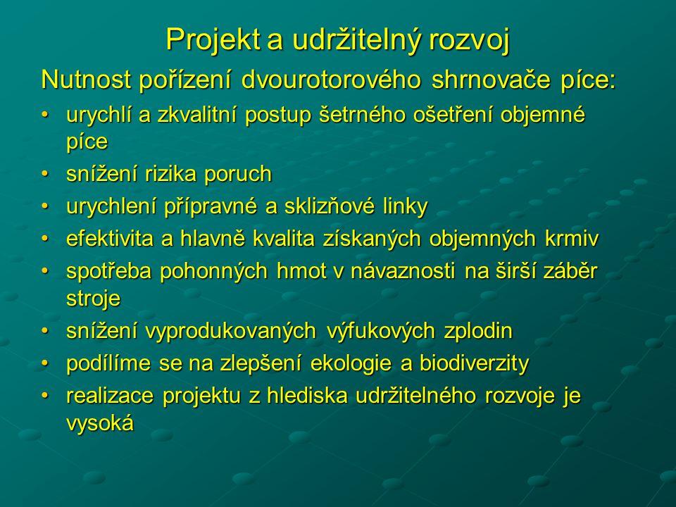Projekt a udržitelný rozvoj