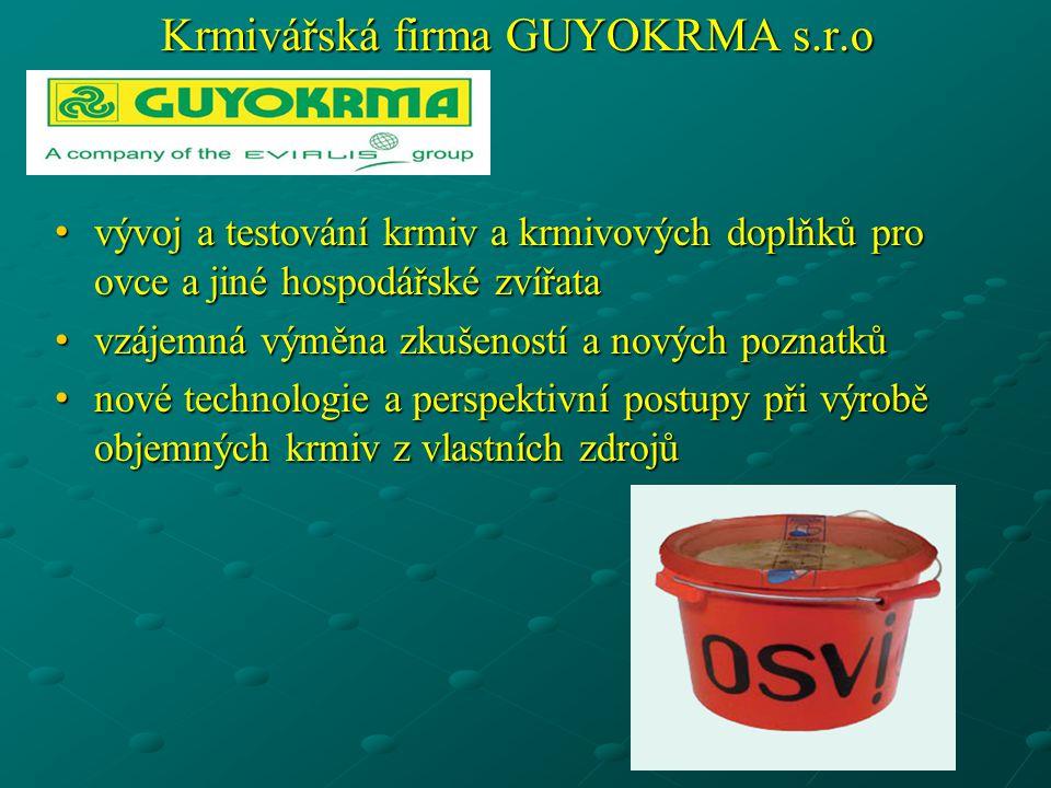 Krmivářská firma GUYOKRMA s.r.o