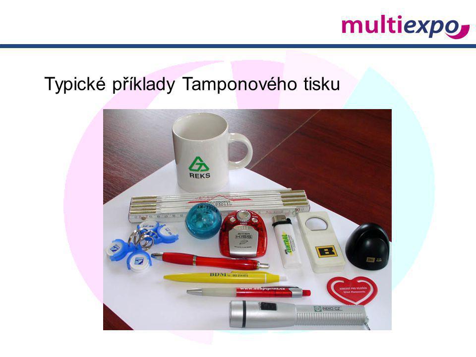 Typické příklady Tamponového tisku