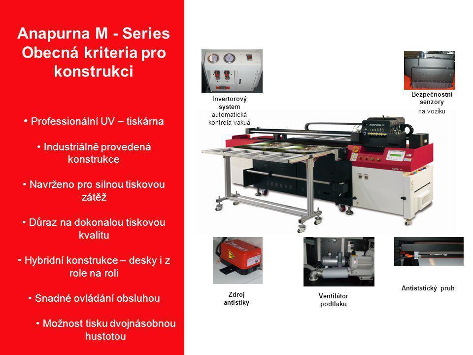 Anapurna M - Series Obecná kriteria pro konstrukci