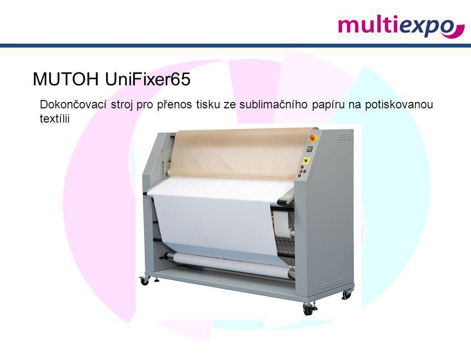MUTOH UniFixer65 Dokončovací stroj pro přenos tisku ze sublimačního papíru na potiskovanou textílii