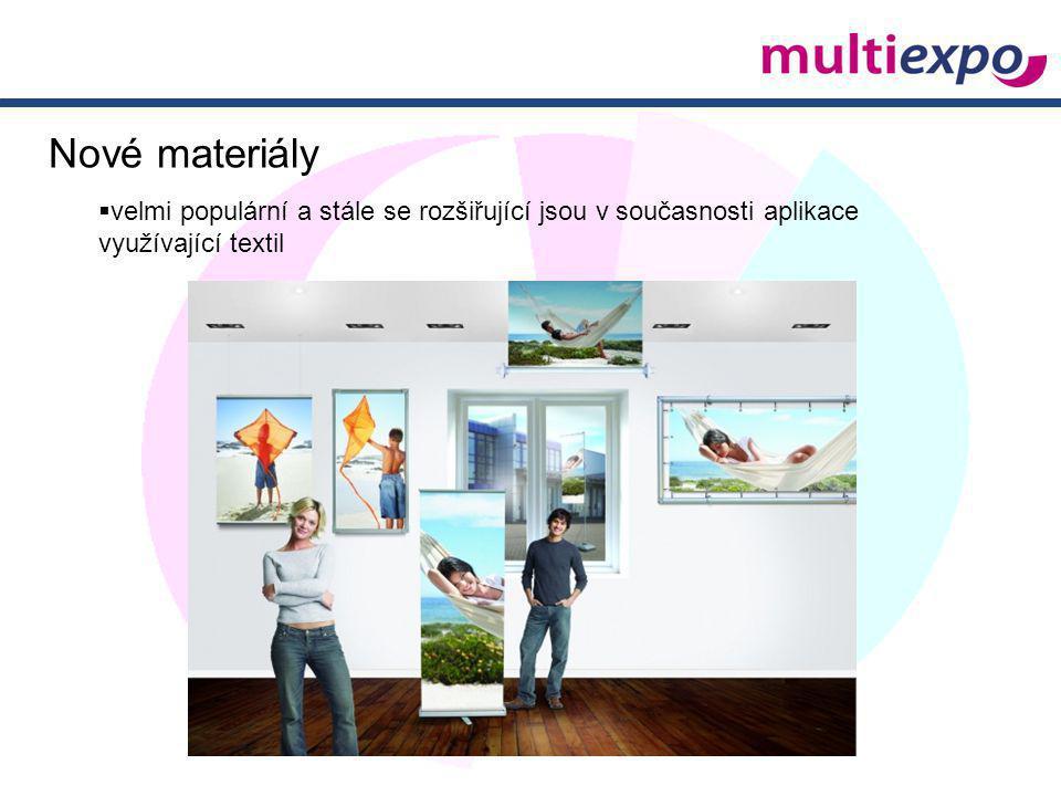 Nové materiály velmi populární a stále se rozšiřující jsou v současnosti aplikace.