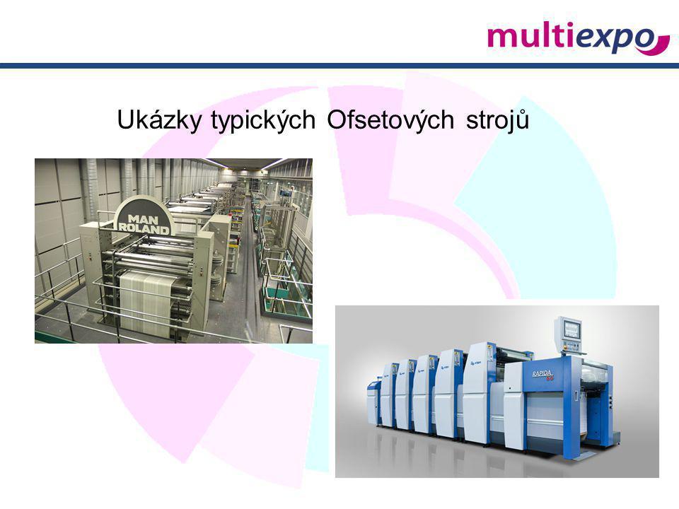 Ukázky typických Ofsetových strojů