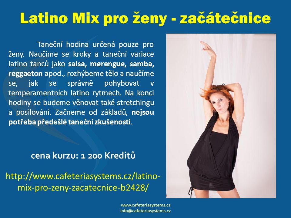 Latino Mix pro ženy - začátečnice