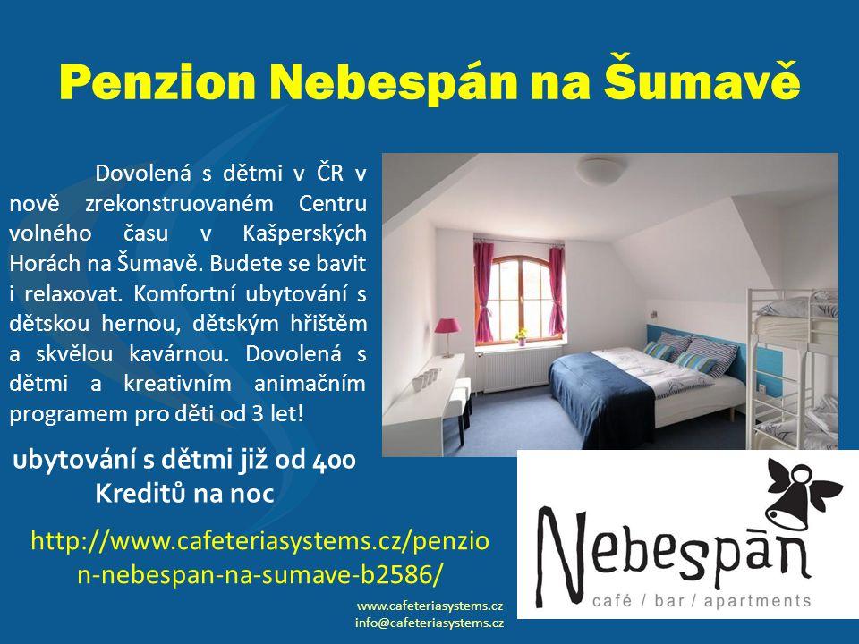 Penzion Nebespán na Šumavě