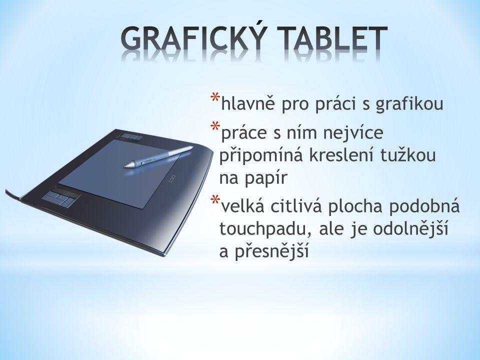 GRAFICKÝ TABLET hlavně pro práci s grafikou