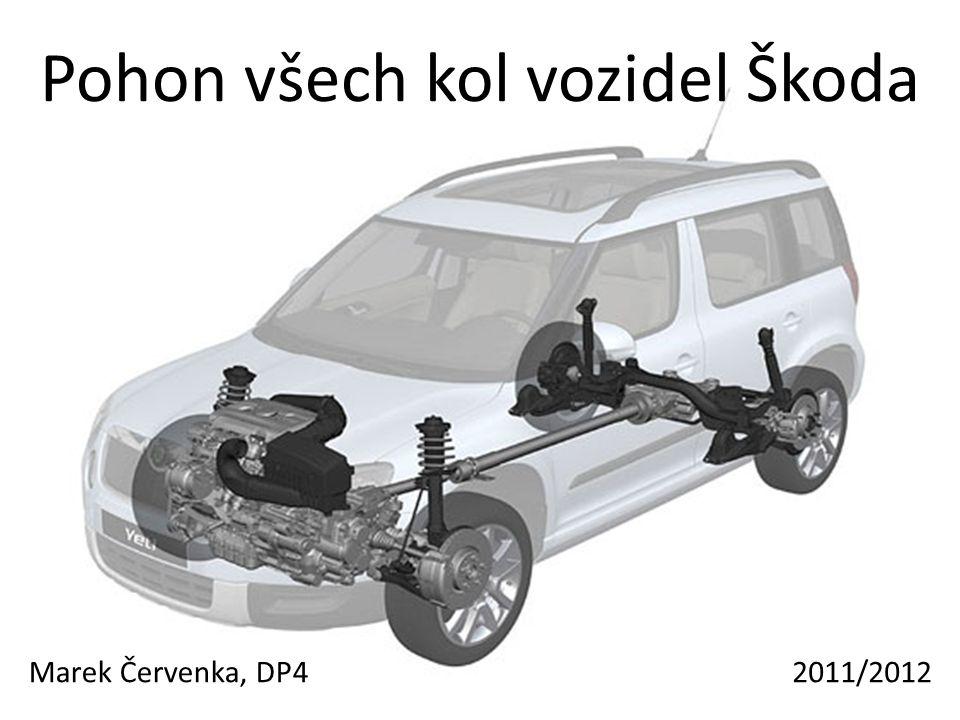 Pohon všech kol vozidel Škoda