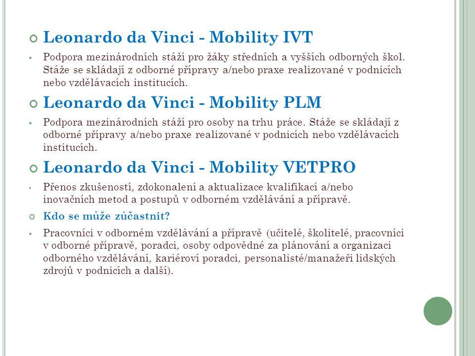Leonardo da Vinci - Mobility IVT