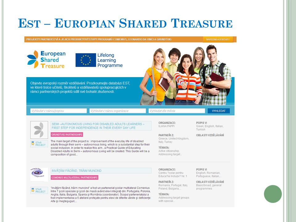 Est – Europian Shared Treasure