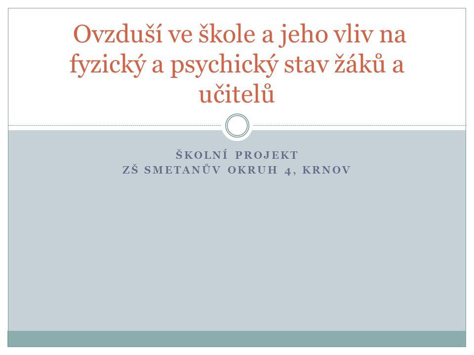 Školní projekt ZŠ Smetanův okruh 4, Krnov