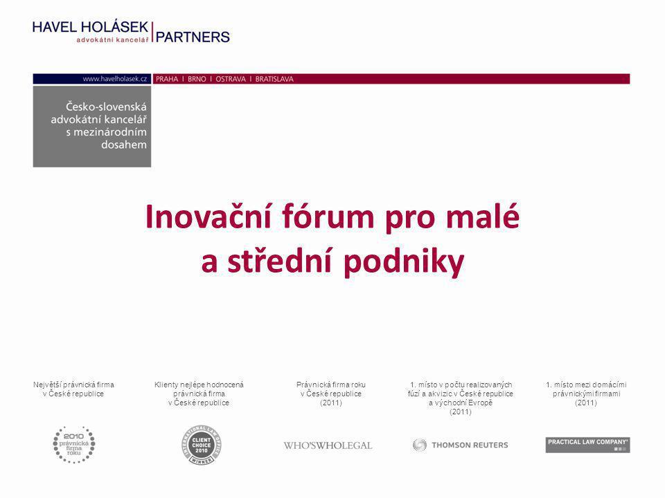 Inovační fórum pro malé a střední podniky