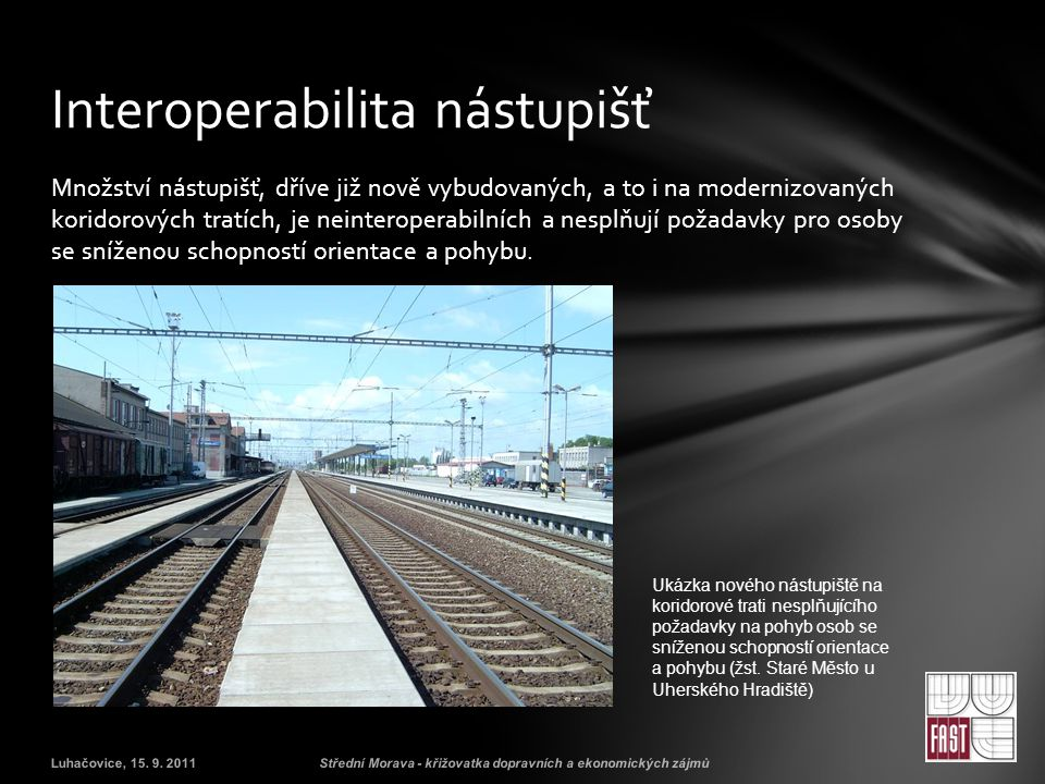 Interoperabilita nástupišť