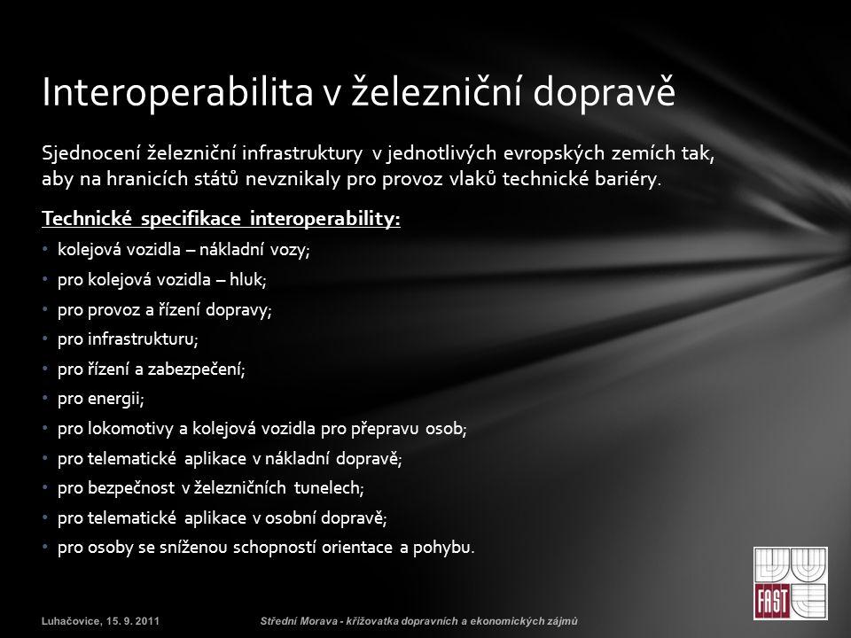 Interoperabilita v železniční dopravě