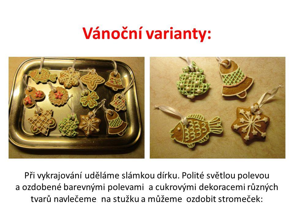 Vánoční varianty: