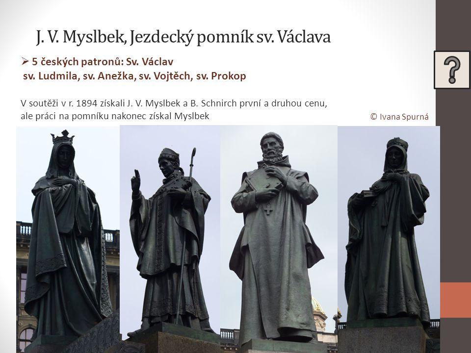 J. V. Myslbek, Jezdecký pomník sv. Václava