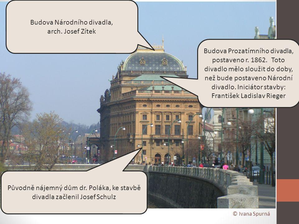 Budova Národního divadla,