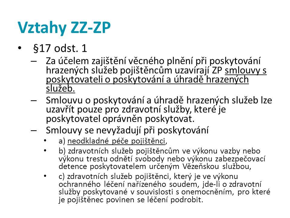 Vztahy ZZ-ZP §17 odst. 1.