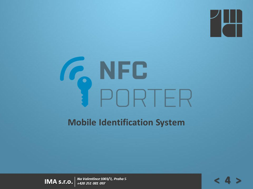 Mobile Identification System