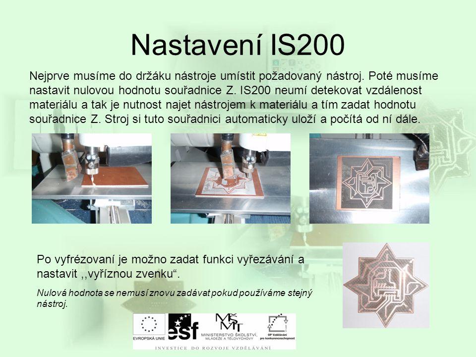 Nastavení IS200