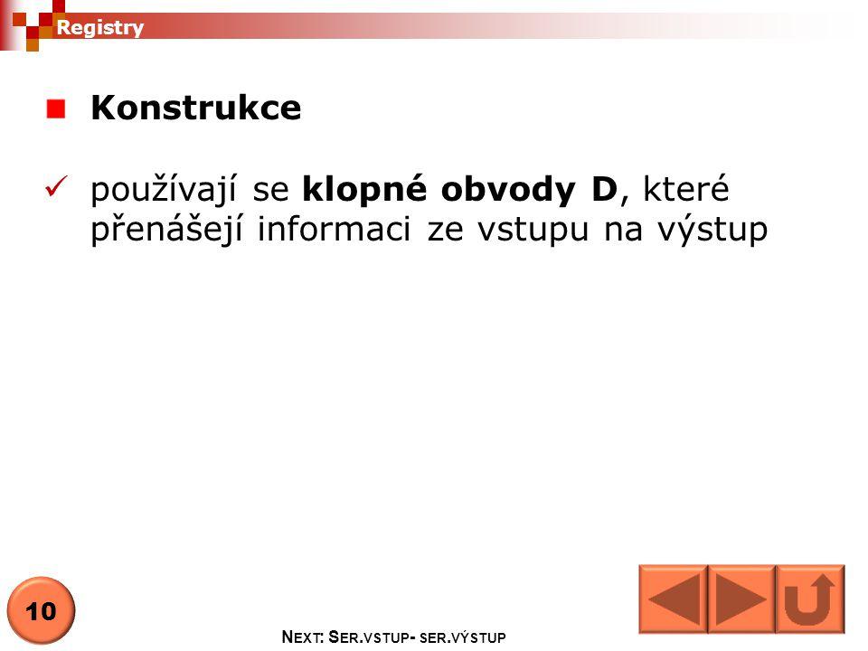 Next: Ser.vstup- ser.výstup