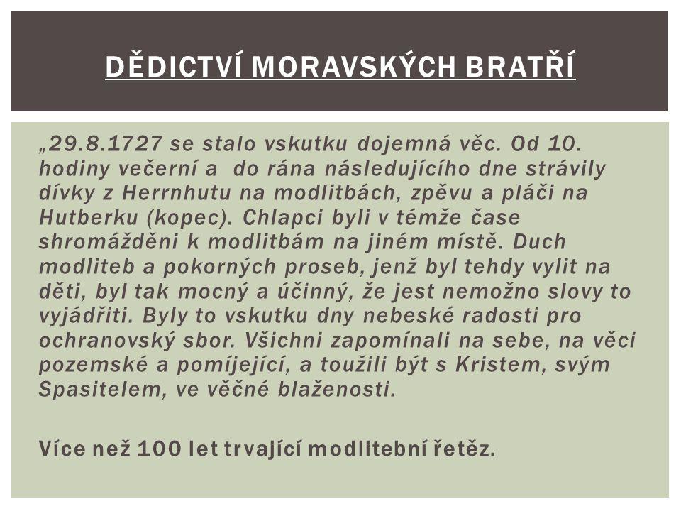 Dědictví moravských bratří