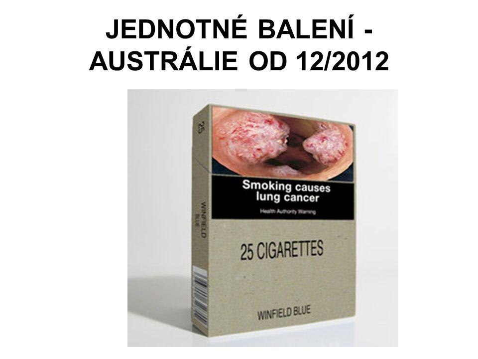 JEDNOTNÉ BALENÍ - AUSTRÁLIE OD 12/2012
