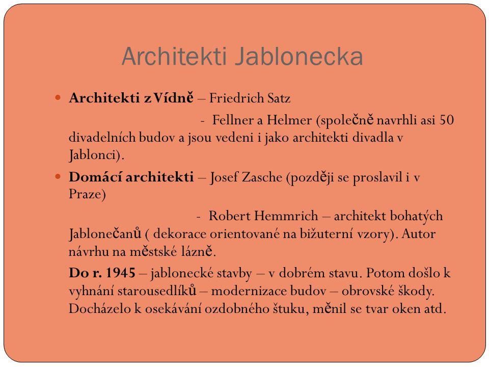 Architekti Jablonecka