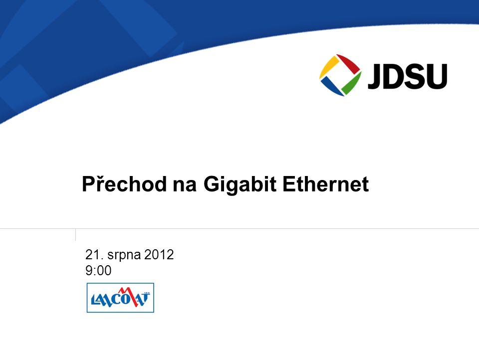 Přechod na Gigabit Ethernet
