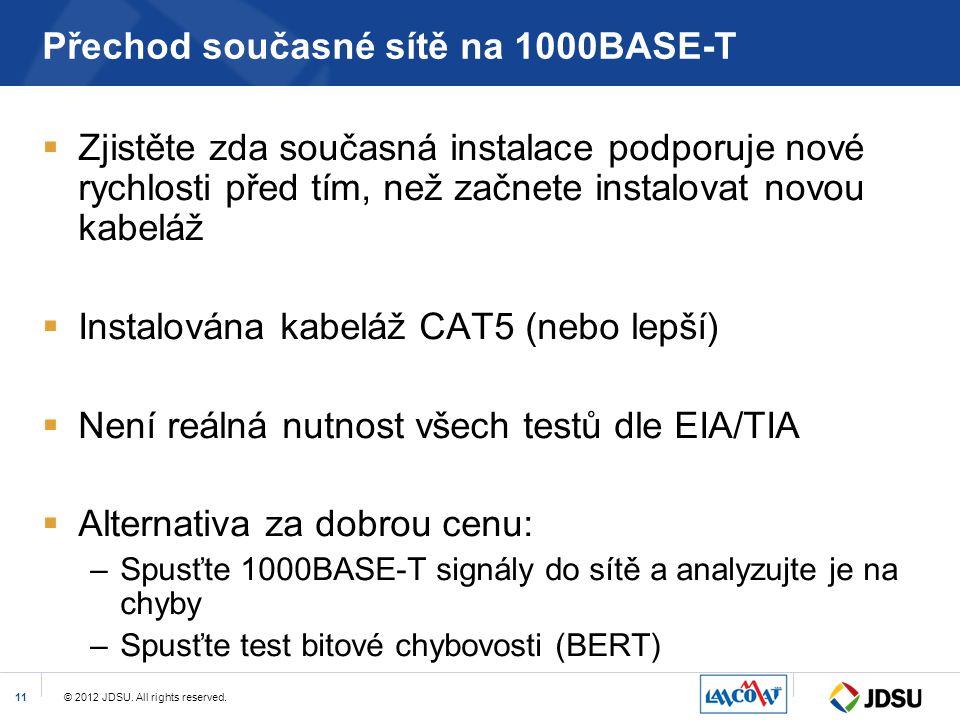 Přechod současné sítě na 1000BASE-T