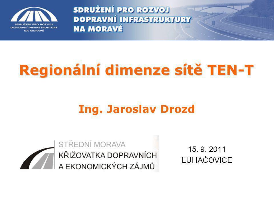 Regionální dimenze sítě TEN-T