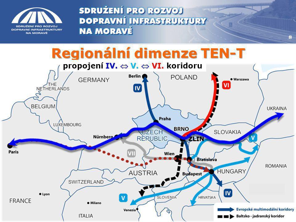 Regionální dimenze TEN-T