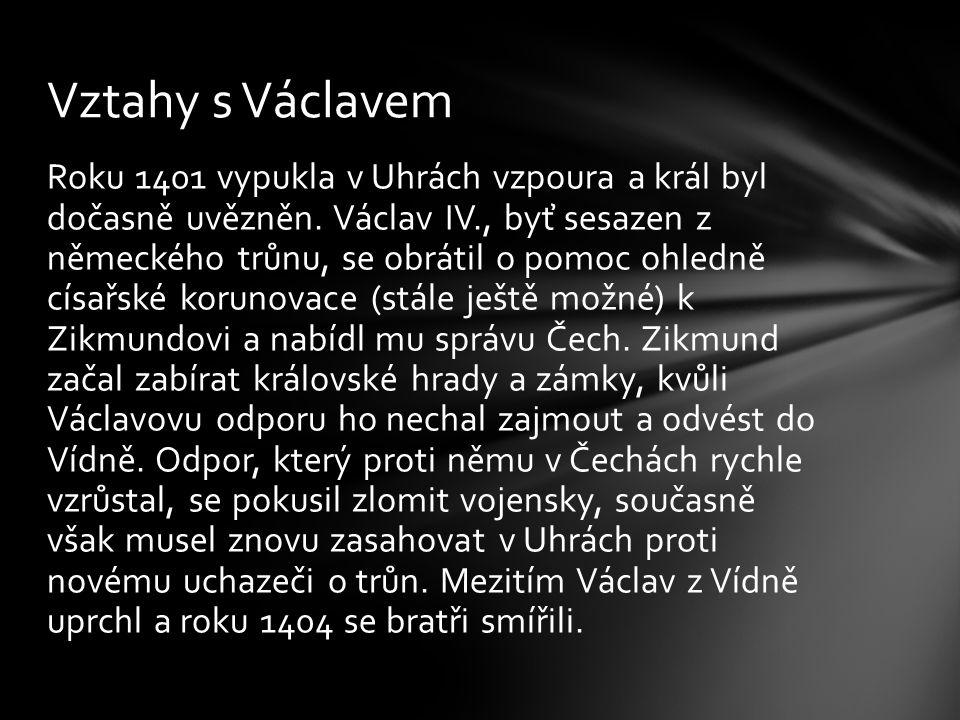 Vztahy s Václavem