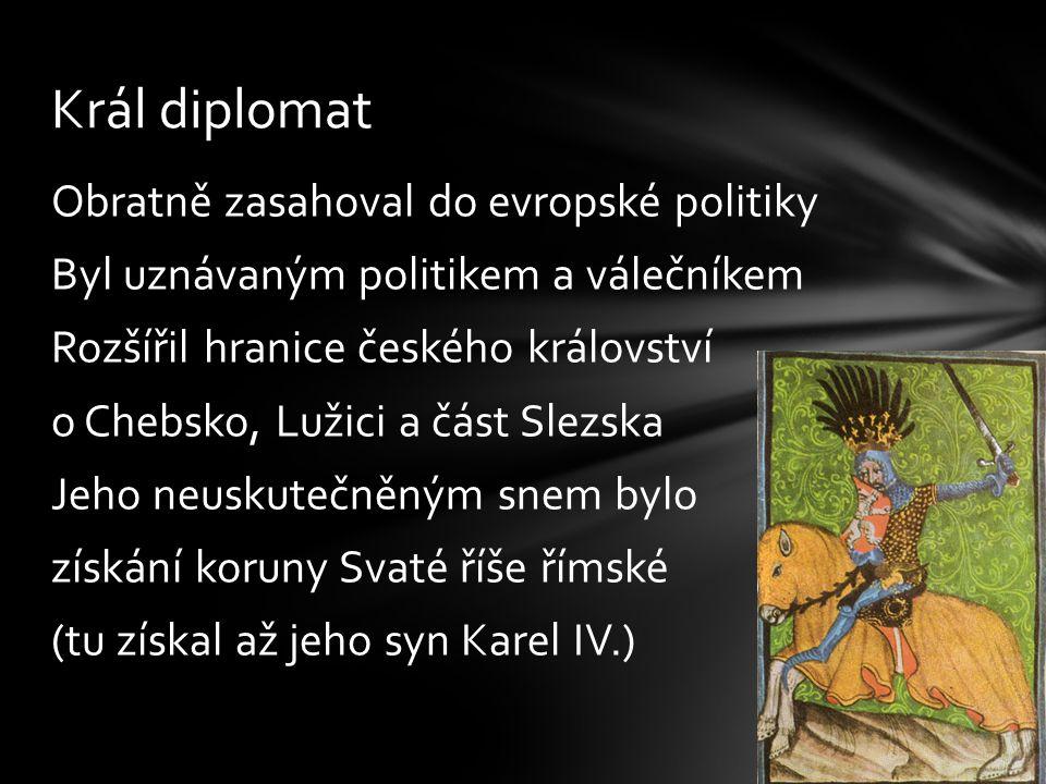 Král diplomat