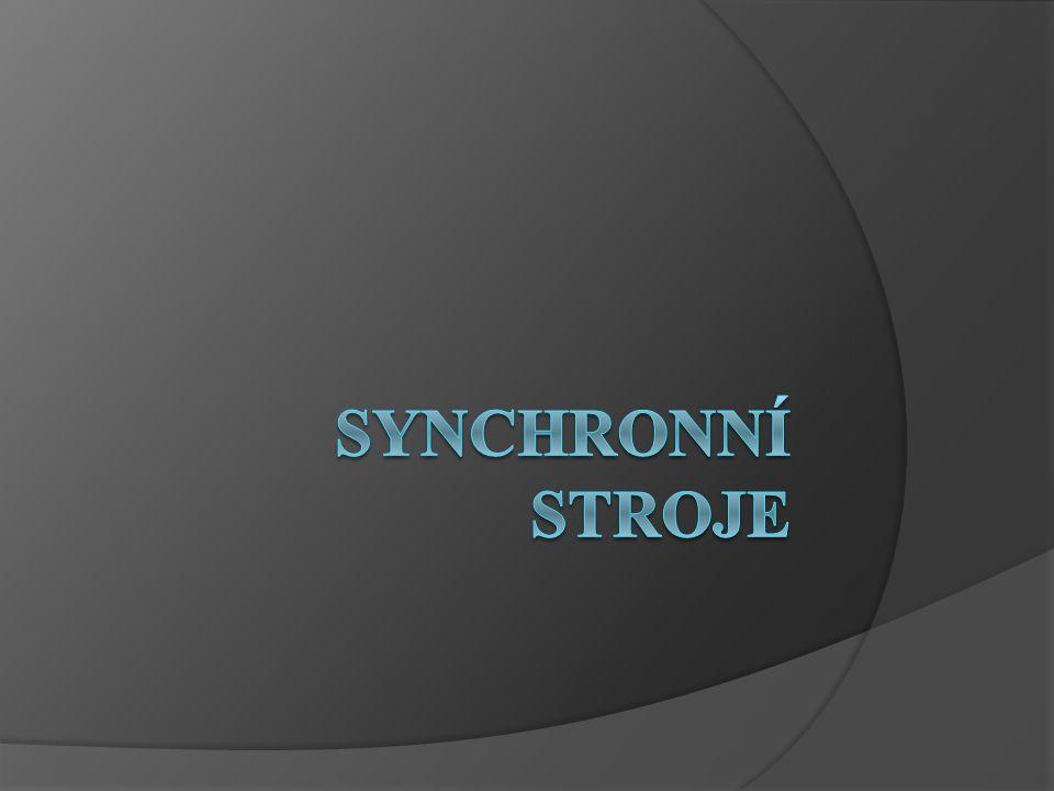 synchronní stroje