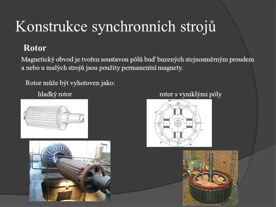 Konstrukce synchronních strojů