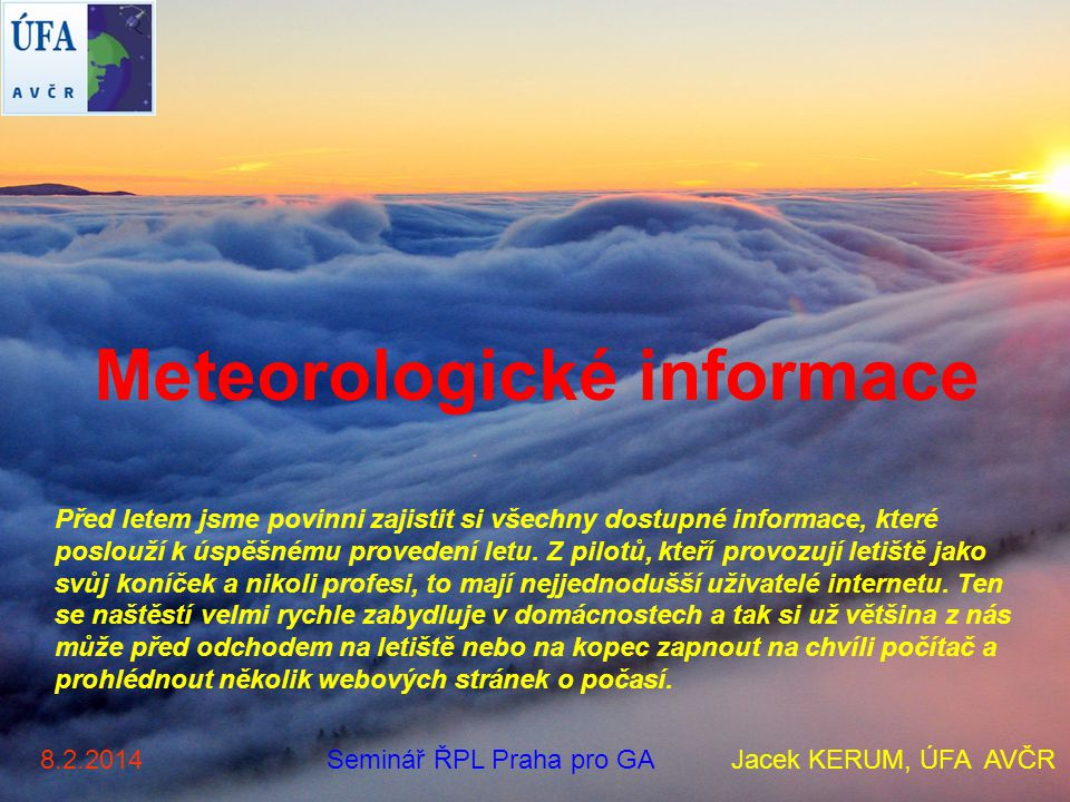 Meteorologické informace