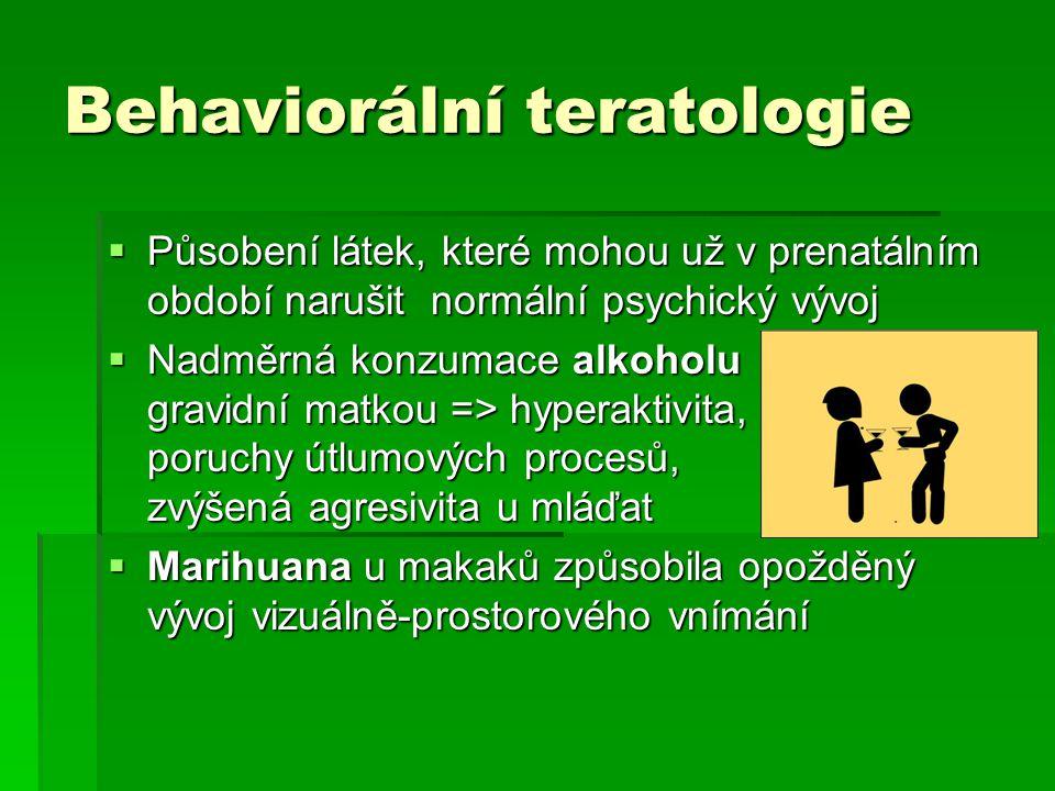Behaviorální teratologie