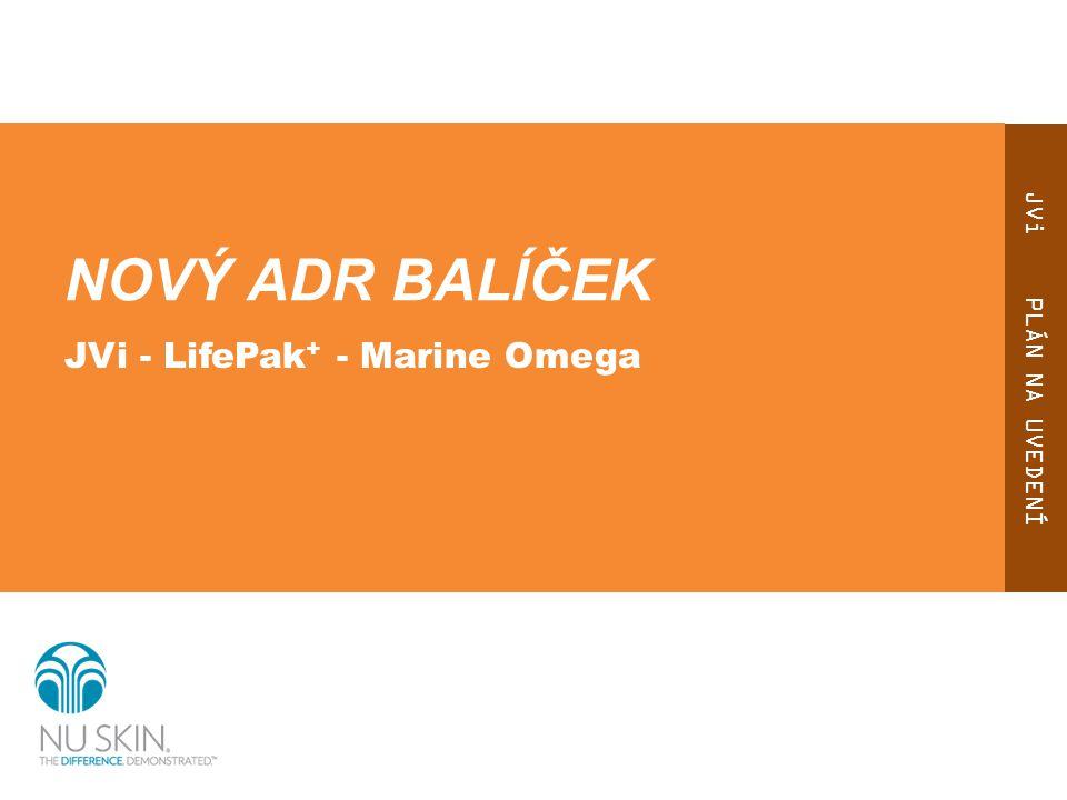 NOVÝ ADR BALÍČEK JVi - LifePak+ - Marine Omega